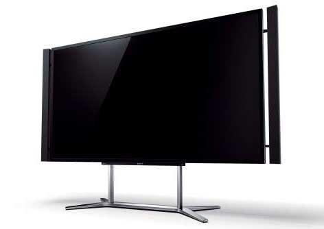 TV flat terbesar 2012