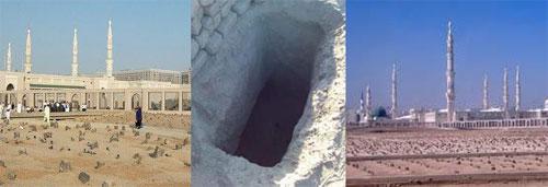 Makam di Mekkah dan Medinah