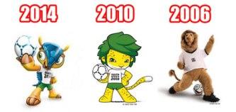 Piala Dunia 2014 2010 2006