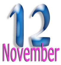 12 Nov