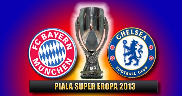 Bayern vs Chelsea, UEFA Super Cup 2013