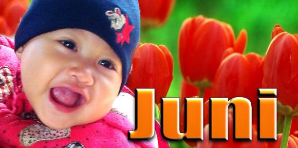 Bayi yang lahir di bulan Juni