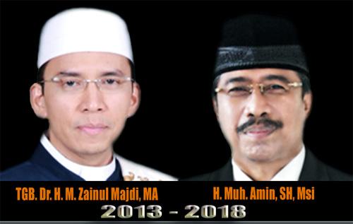 Calon Gubernur dan Wakil Gubernur NTB Terpilih 2013 2018