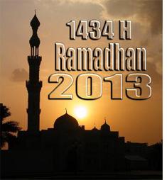 JAKARTA – Awal bulan puasa yakni 1 Ramadhan 1434 Hijriyah jatuh pada ...