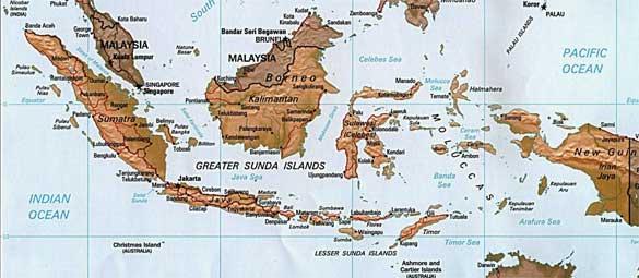 Gugusan pulau di Indonesia