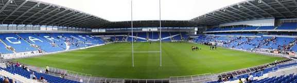 Stadion Cardiff City, lokasi pertandingan UEFA Super Cup 2014