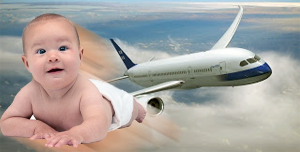 Bayi-bayi yang lahir di pesawat terbang