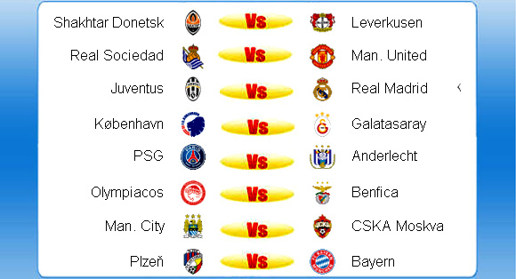 Jadwal Liga Champion Rabu 6 November