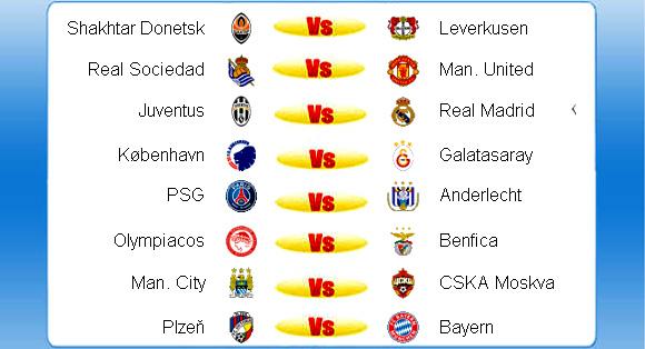 Berikut selengkapnya jadwal siaran langsung UEFA Liga Champions ...