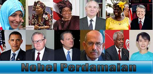 Foto pemenang Nobel Perdamaian