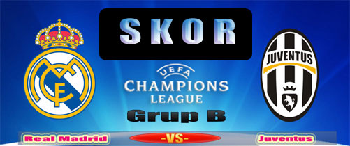 Skor hasil Real Madrid vs Juventus 24 Oktober 2013