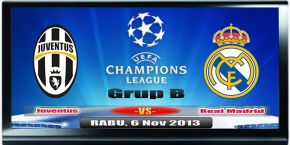 Prediksi skor Juventus vs Real Marid 6 November 2013