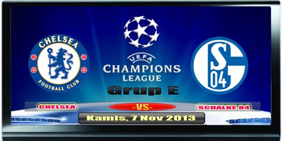 Chelsea vs Schalke 04 - Liga Champion Kamis 7 November 2013
