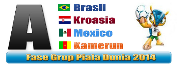 Grup A Piala Dunia 2014 Brasil