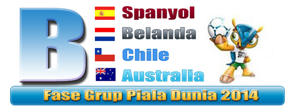 Preview Grup B Piala Dunia Brazil 2014