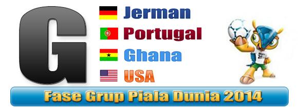 Prediksi dan jadwal Piala Dunia 2014 Grup G