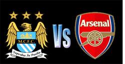 jadwal Manchester City vs Arsenal