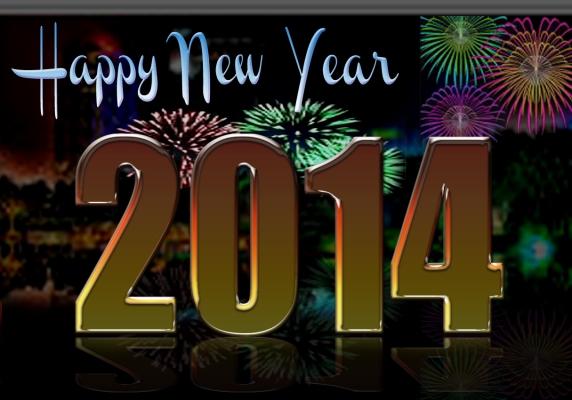 Happy New Year 2014, selamat tahun baru Indonesia