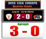 Skor Benfica vs AZ