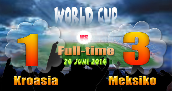 SKOR 3-1: Meksiko Runner-up Grup B, Kroasia Tereliminasi, Belanda vs Meksiko