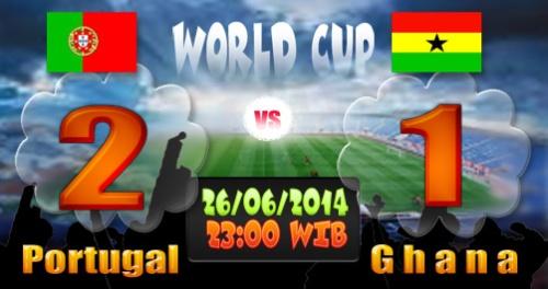 Unggul 2-1 Atas Ghana, Portugal Tereliminasi dari Piala Dunia