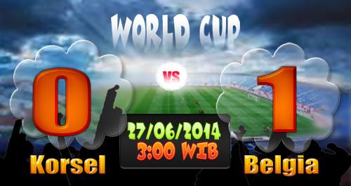 Tekuk Korsel, Belgia Juara Grup H Piala Dunia