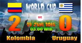 Kolombia 8 besar
