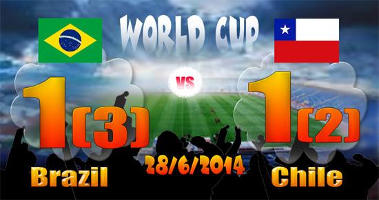Brazil lolos delapan besar