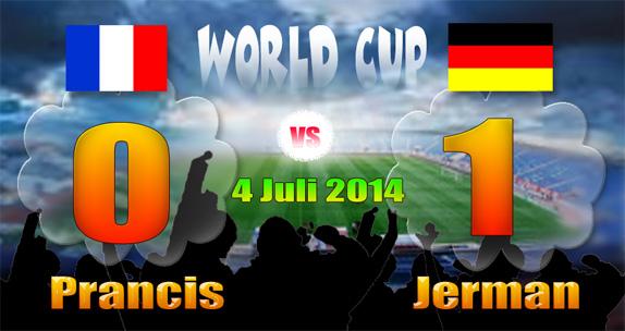 Score France-Germany