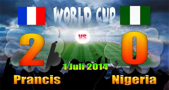 Singkirkan Nigeria, PRANCIS Lolos Perempat-Final Piala Dunia