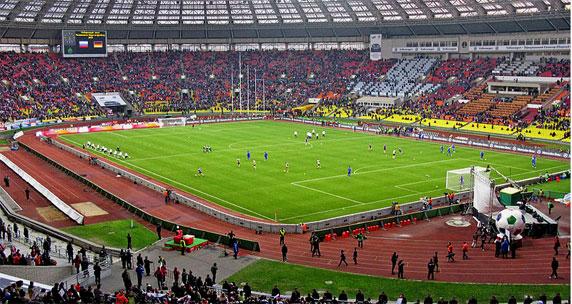 Stadion final Piala Dunia 2018 Luzhniki Moscow