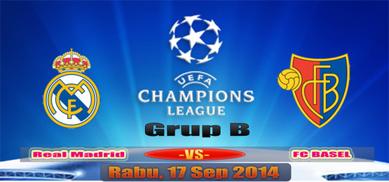 REAL Madrid vs FC Basel Sep 2014