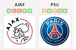 Ajax vs PSG