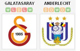 Galatasaray v Anderlecth