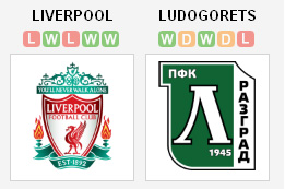Liverpool vs Ludogorets