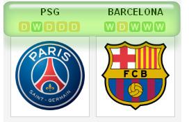 PSG vs Barca