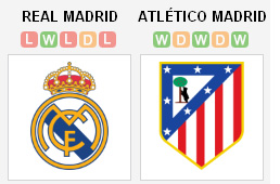 Real Madrid v Atletico