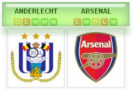 Anderlecht vs Arsenal