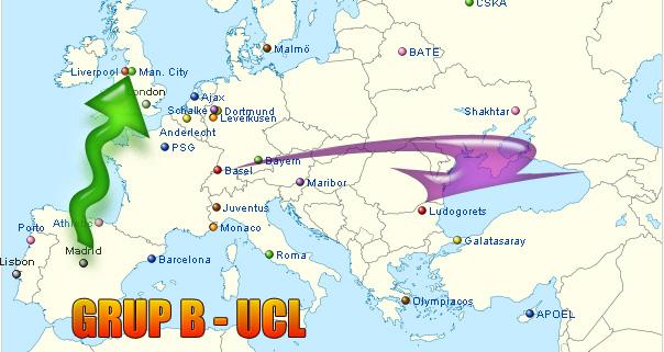 Jadwal Grup B Liga Champion: Liverpool v Real Madrid; Basel v Ludo