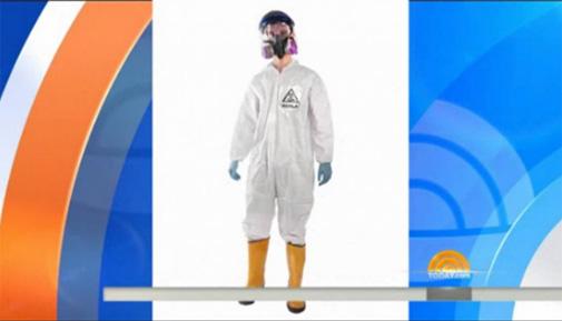 Kostum Halloween Ebola Bikin Heboh