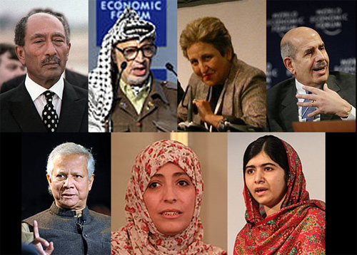 Daftar pemenang hadiah Nobel Perdamaian