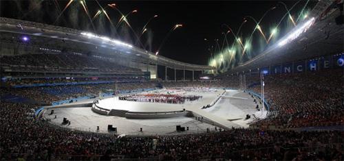 Penutupan Asian Games Korea Selatan