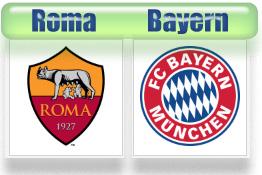 Roma vs Bayern Muenchen