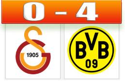 Skor Gala vs BVB