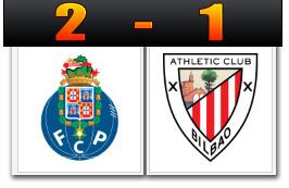 Skor Porto 2-1 Athletic Bilbao