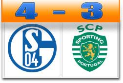 Skor Schalke Sporting Lisbon