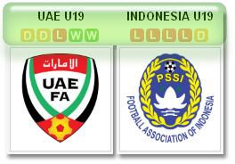 UEA v Indonesia U-19