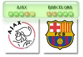 Ajax v Barca