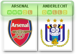 Arsenal-v-Anderlecht
