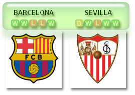 Barca v Sevilla